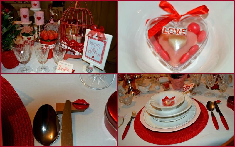 Suite saint valentin 2016 table menu cadeaux pur for Table 52 gaborone menu