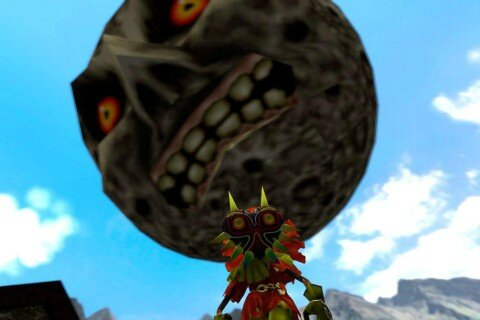 The Legend of Zelda : Majora's Mask de retour sur la console virtuelle Wii U dès jeudi