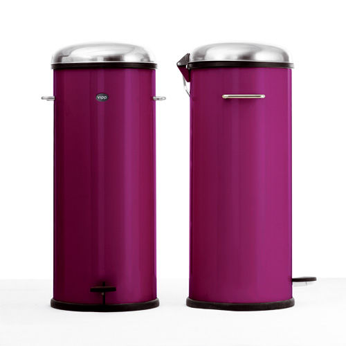 poubelle p dale 30 litres purple vipp photo de les poubelles le blog des. Black Bedroom Furniture Sets. Home Design Ideas