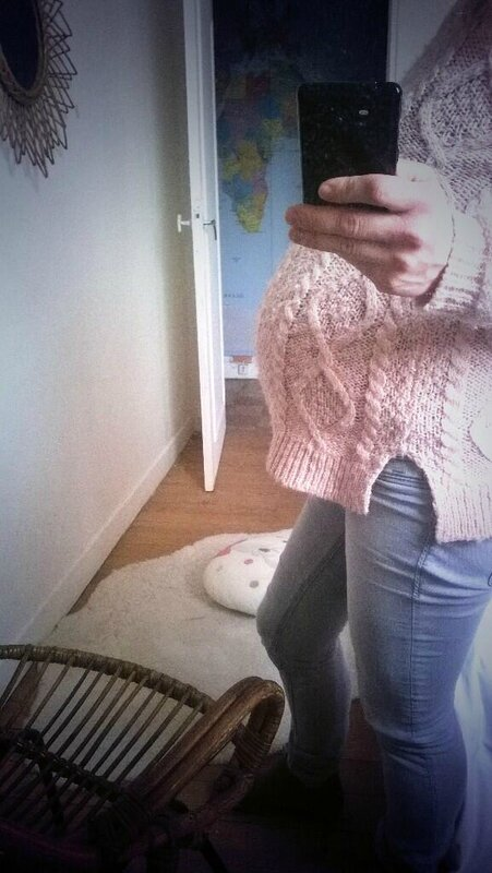 baby bump 34 semaines