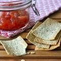 Crackers au pavot et sésame