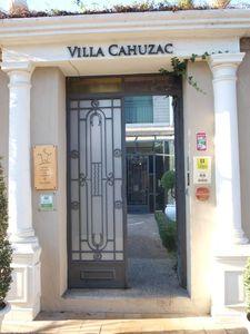 Entrée Villa Cahuzac gimont gers