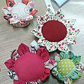 Création couture.........floraison automnale!