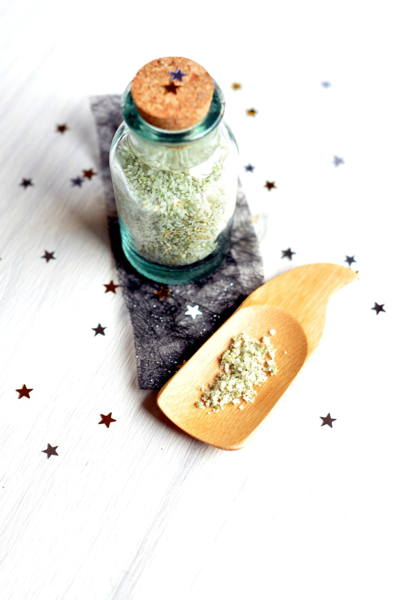 ☆ Calendrier de l'avent : 1 surprise par jour ☆ Jour 7 : Fleur de sel au matcha et au yuzu