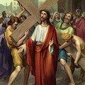 2 Jésus est chargé de sa Croix