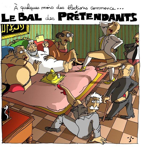 Pretendants