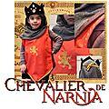 Déguisement de chevalier–roi de narnia, le tuto