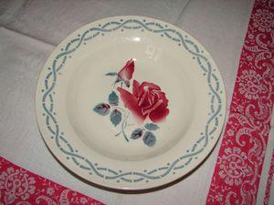 Janine Digoin assiette creuse 22,5 cm