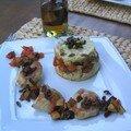 Poulet grillé aux légumes du Sud (recette du 08/08)