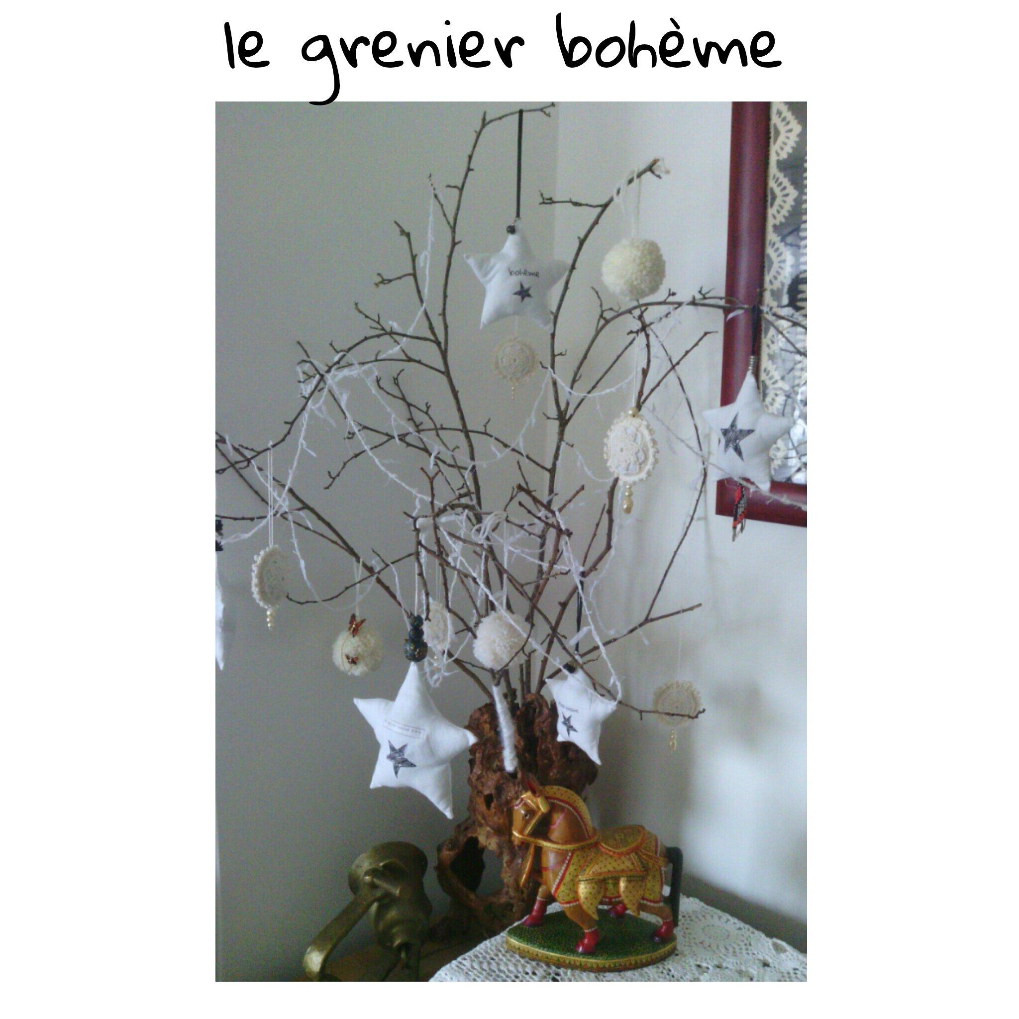 mon arbre en fêtes !!!