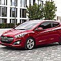 Hyundai et kia dévoileront respectivement les nouvelles i30 et cee'd trois portes au salon de l'auto de paris 2012 (cpa)