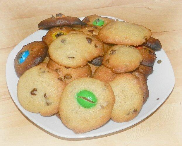 Cookies sans beurre !