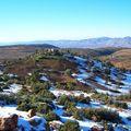 Route d'Azilal sous la neige