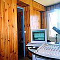 Le nouveau studio à l'Omcs de Vieux-Fort - rénové en 2002