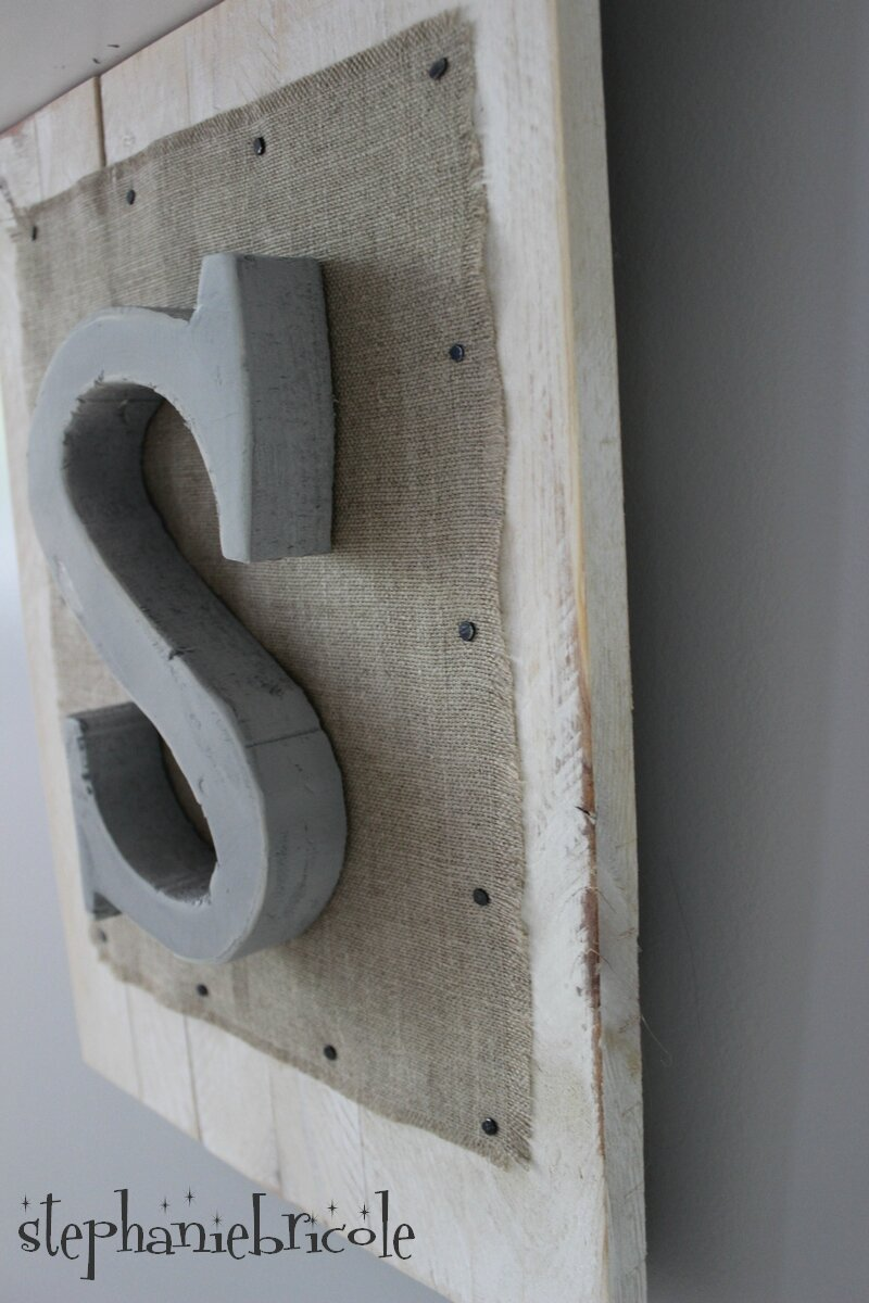Diy r cup tableau mural bois polystyr ne et toile de - Peinture pour palette en bois ...