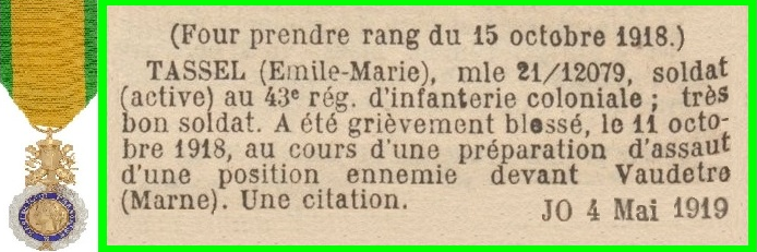 archives infanterie coloniale