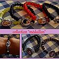 sept 2011 Bracelet boule medaillon 1