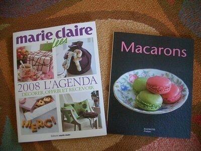 L'agenda MCI et livre pour macaron addict ;-)