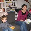 P'tit déjeuner chez Valérie nov 2008