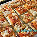 Pizza apéritive de la mer
