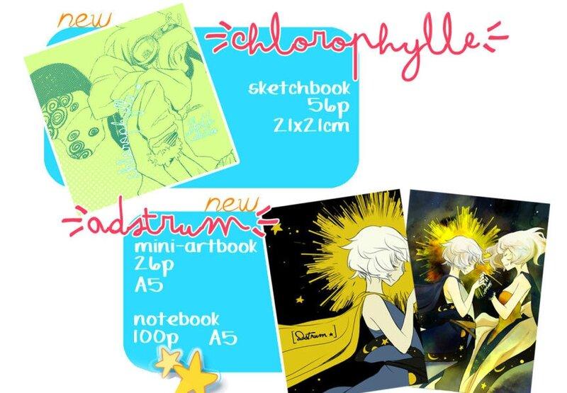 Senri Chlorophylle Adstrum Artbook Japan Expo 2016 Fanzine
