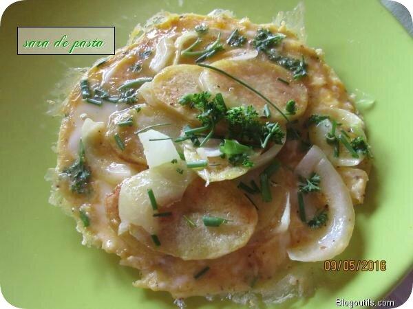 Une bonne omelette.