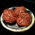 Muffins au chocolat comme chez MacDo