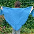 Fir cone square shawl, Cheryl Oberle/avril-juillet 08