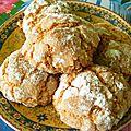 Ghribia: gâteaux secs aux cacahuètes et noix de coco