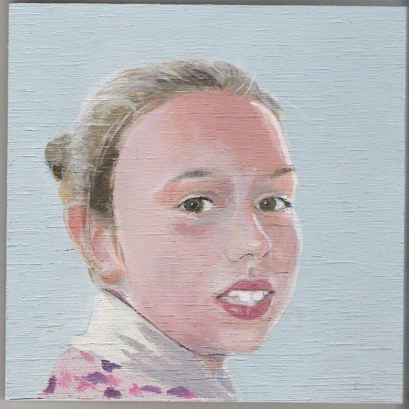 Portrait de la jeune fille aux dents de perle