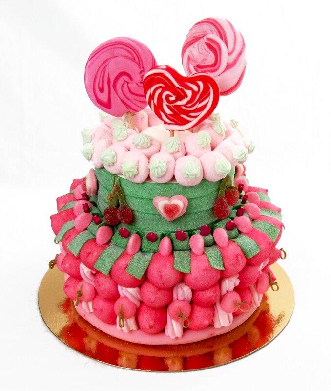 ... de bonbons mariage - Gâteaux de bonbons. Compositions de bonbons