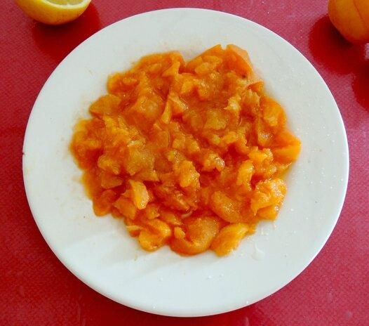 purrée d'abricot