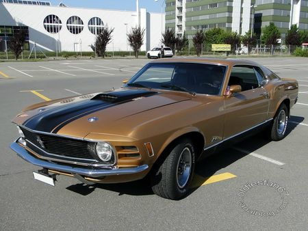 ford mustang mach1, 1970, us car meeting dierikon 2012 3