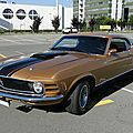 Ford mustang mach1 fastback coupe, 1970