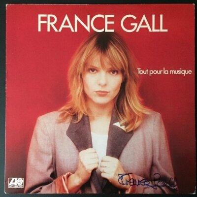 autographe-france-gall