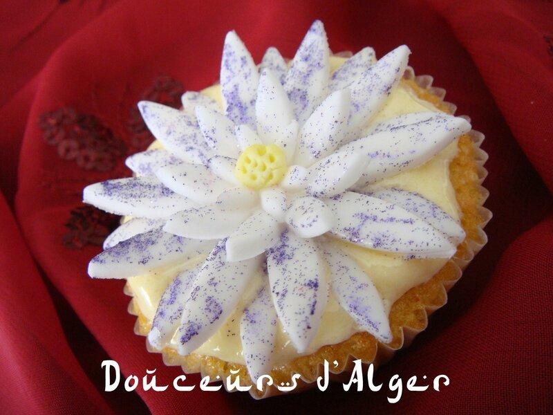 cupcake nénuphar 4