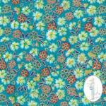 tissu japonais au metre vert tissu couture 331