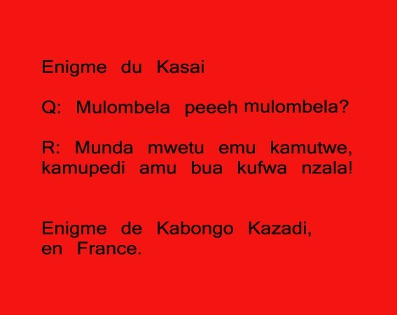 enigme du kasai 11