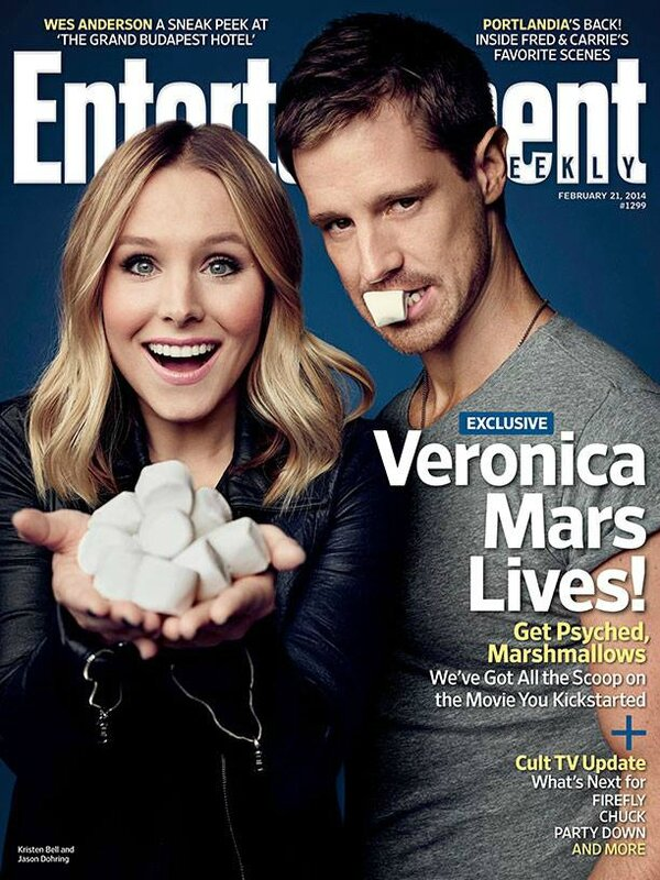 EW cover Veronica Mars