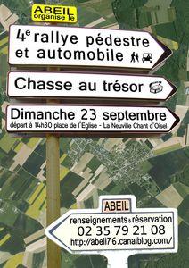 rallye 2012 affiche