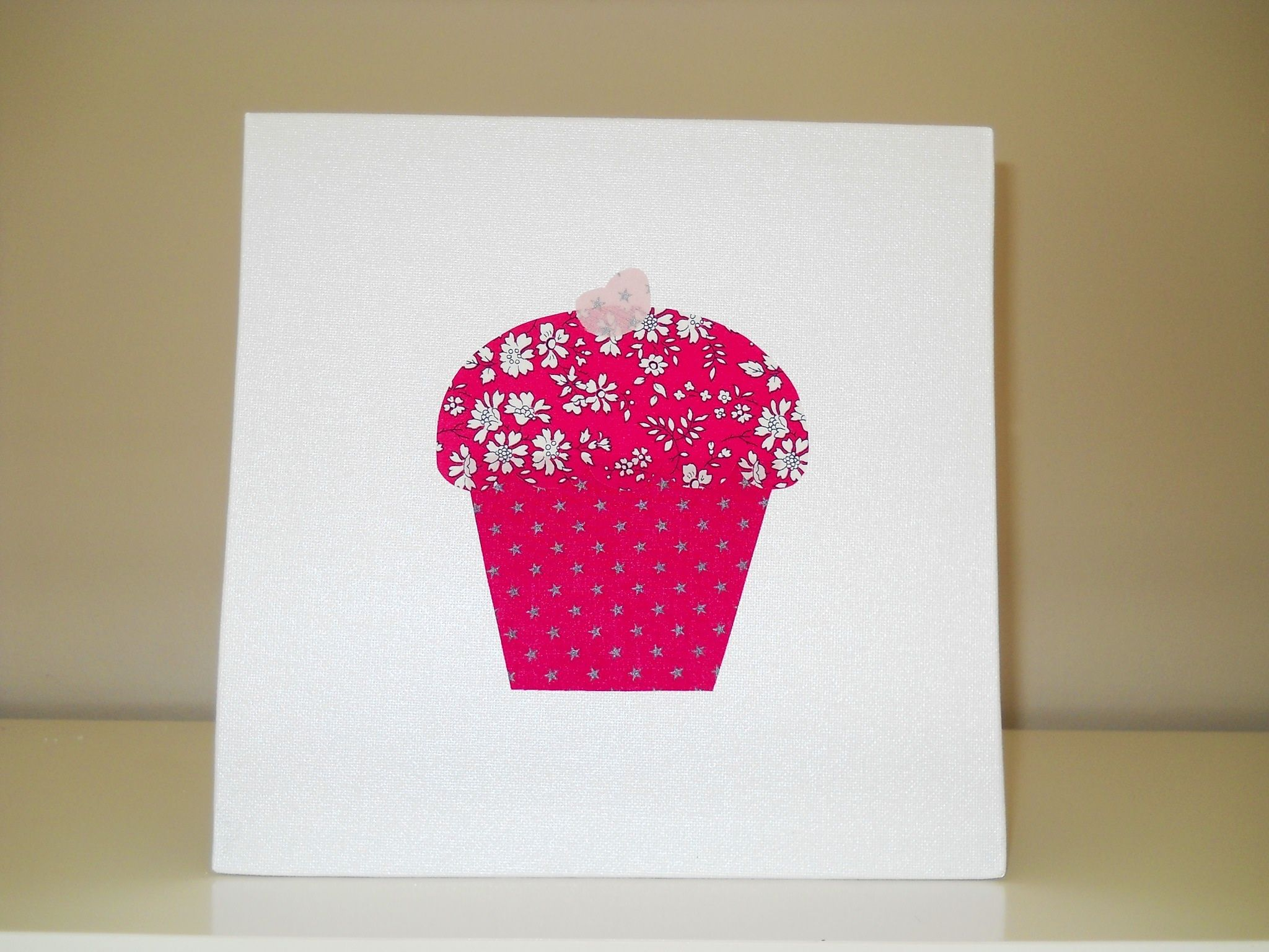 Tableau cupcake liberty photo de d co coton b b coton - Magasin decoration en ligne ...