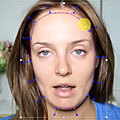 Modifier le maquillage d'un visage dans une vidéo