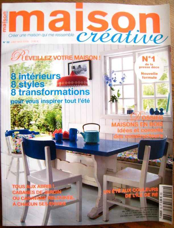 P 39 home est dans le magazine d co maison cr ative p 39 home d 39 amour - Magazine deco maison ...