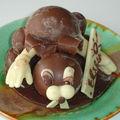 Un lapin en chocolat