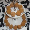 Mini financier au café et à la fêve tonka!