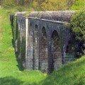 Vouneuil sous Biard (86), aqueduc de Fleury (XIXème siècle)
