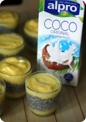 creme coco mangue graines de chia blog chez requia