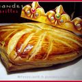 Galette des rois amande et confiture de groseilles