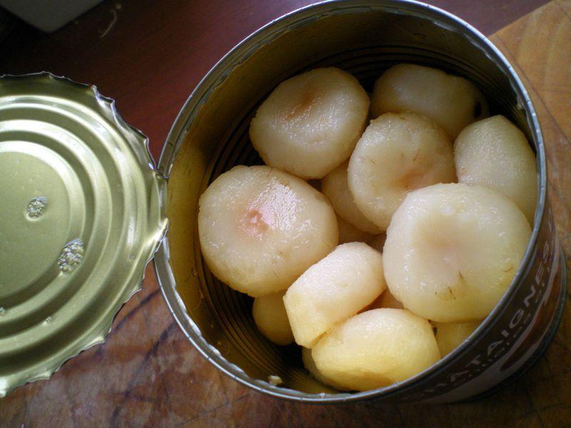 Velout de ch taigne d 39 eau au lait de coco cuisiner avec - Cuire les chataignes a l eau ...