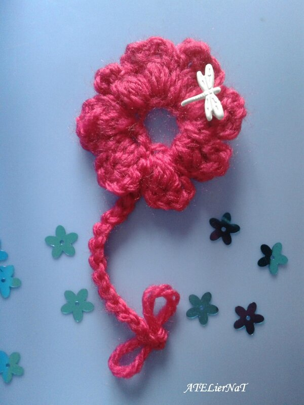 Fleur crochet SC246